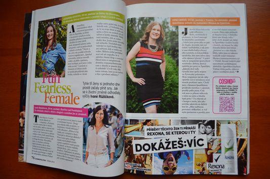 Alexandra Kovacova Cosmopolitan