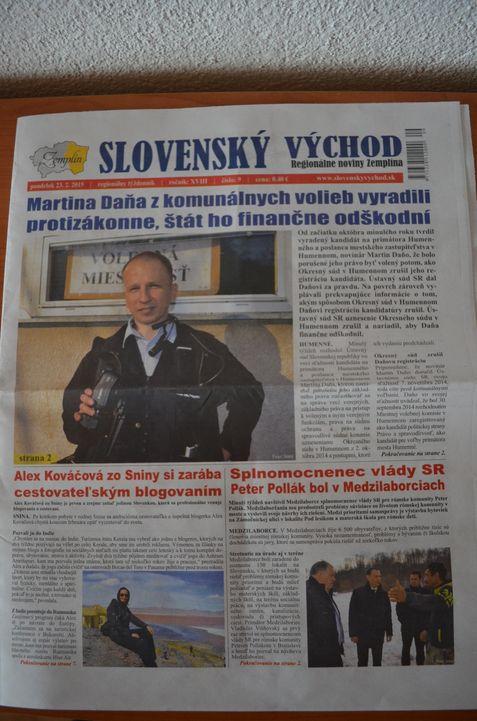 Alexandra Kovacova cestovanie Slovensky vychod (1)
