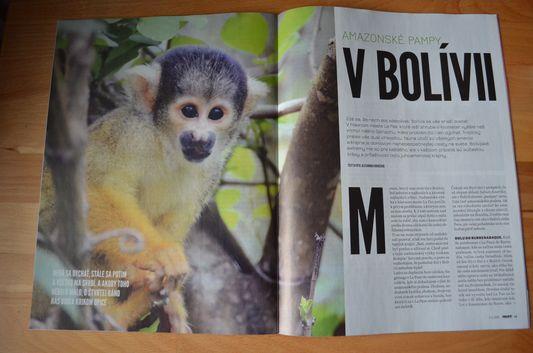Amazonske pampy v Bolivii Profit Alexandra Kovacova